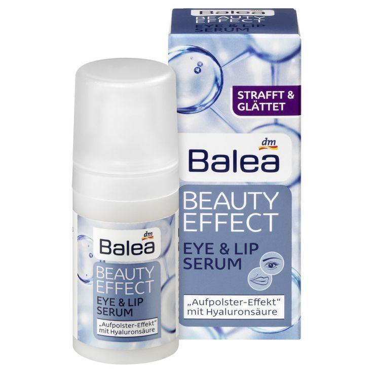 Balea Beauty Effect Eye & Lip Serum mit Hyaluronsäure und Isoflavonen