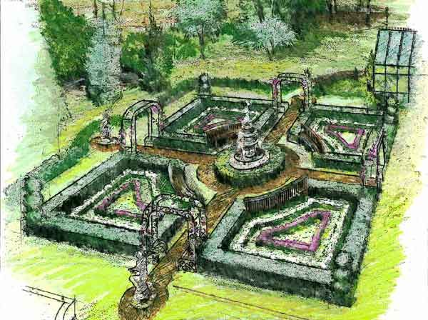 Formal Garden Design formal garden design formal garden design for your front yard collection Knot Garden Formal Garden Designwalking