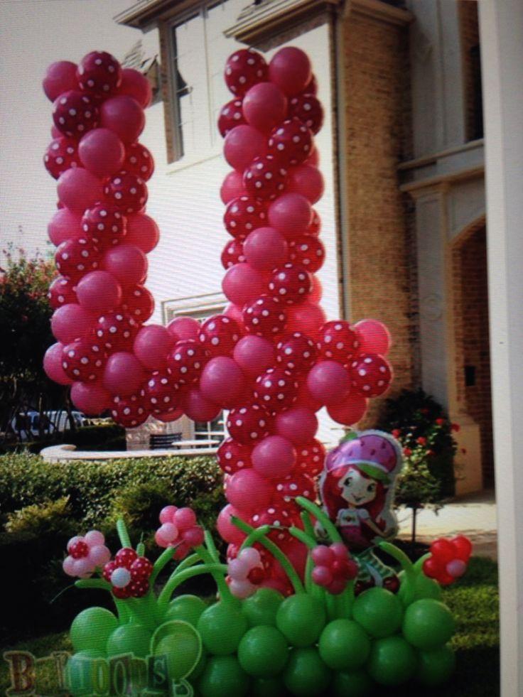 Yard number balloon ideas misc pinterest yards