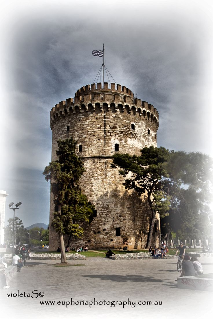 #White #Tower , #Thessaloniki , #Greece #euphoriaphotography