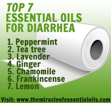 Discover how to relieve diarrhea naturally using these 7 essential oils for diarrhea. Also find recipes to use for different causes of diarrhea such as food