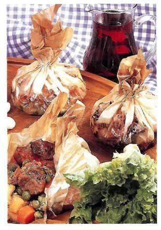 Αρνάκι κλέφτικο σε πουγκιά! | agrotikabook.gr