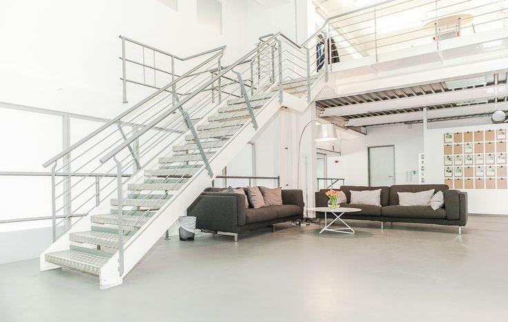 #officedropin #hellofresh A Tour of Hello Freshs cool Berlin Office.