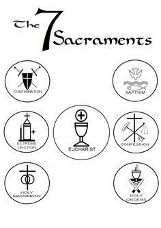 Best 25 Catholic sacraments ideas on Pinterest Praying