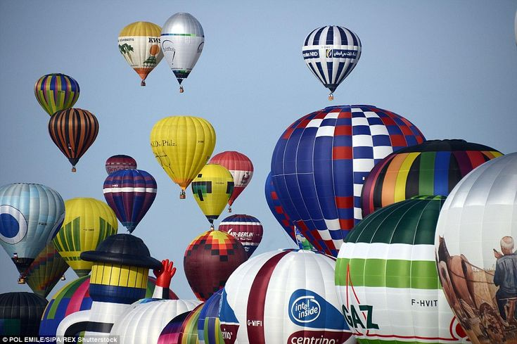 Lift off: Hot air balloon festivals are held annually around the world every year and are ...