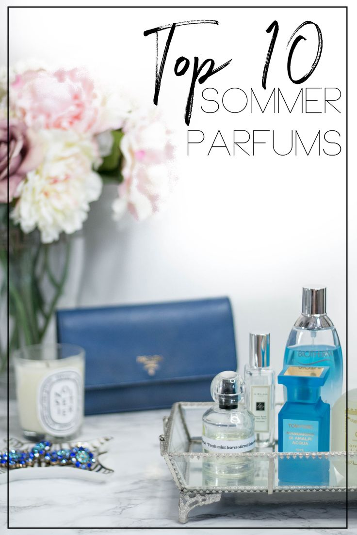 Top 10 Sommer Parfums