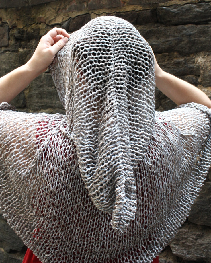 free knitting pattern capelet of invisibility lion brand yarn company - Free Halloween Knitting Patterns