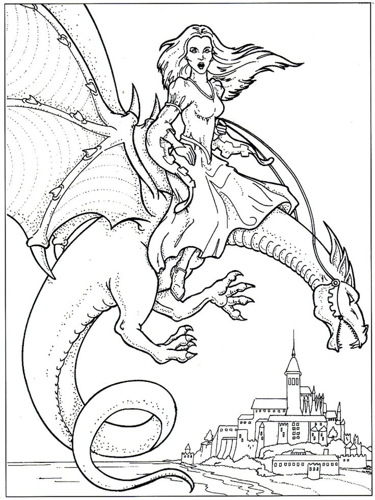 Viewing Gallery For Water Dragon Coloring Pages