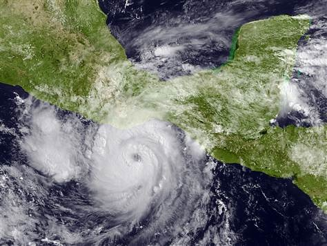 ACAPULCO, Mexico — Hurricane Carlotta weakened into a tropical storm on Saturday after battering Mexico's Pacific coast.