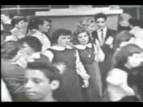 Danny & the Juniors - At The Hop (American Bandstand 1958)  I think I saw that this was St Louis at the beginning... KTVI