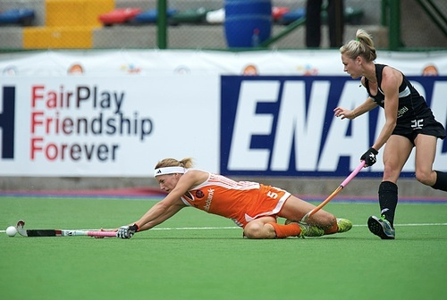 The Blacksticks and the Germans both played for bronze medals but lost