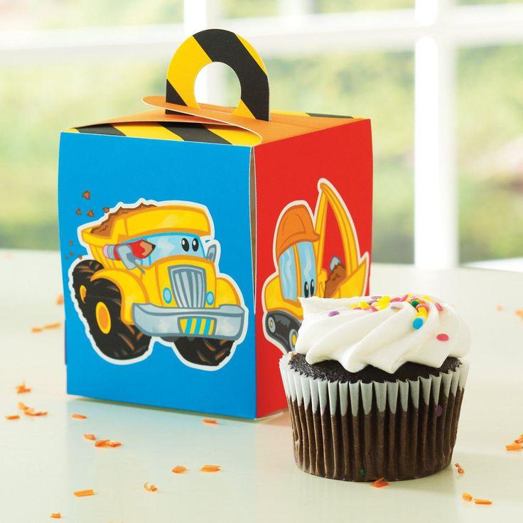 Construction Pals Cupcake Box, 66794