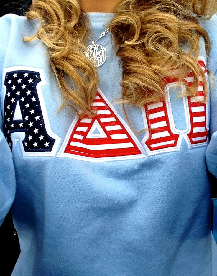 wesleynoelle i love my adpi letter shirts sororitysorority