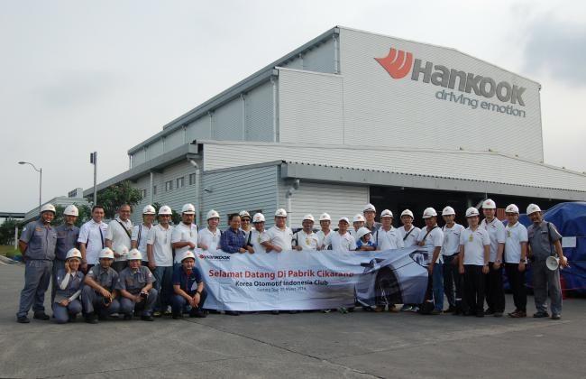 Korea Otomotif Indonesia Kunjungi Pabrik Ban Hankook - Vivaoto.com - Majalah Otomotif Online