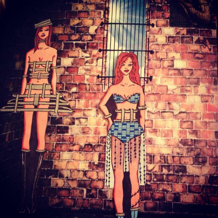 Fashion illustration avant guard