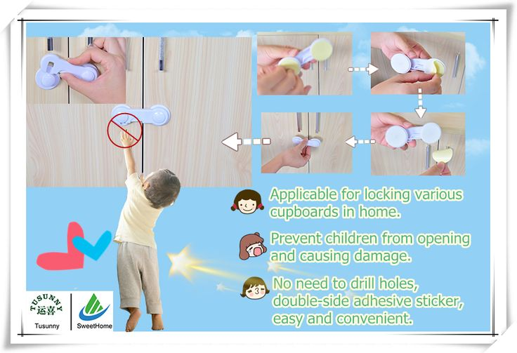 Baby Safety Product-Baby Safety Locks.Baby safety locks can be used as cabinet locks, cupboard locks, refrigerator locks, appliances locks, drawer locks and so on.If you are interest,please contact us!Email:sales@cntusunny.com
