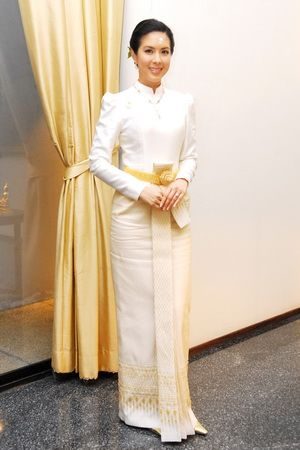 Google search thai costume history pinterest for Laos wedding dress for sale