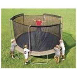 Rakuten.com:Trampoline Parts Center|14 ft. Trampoline Replacement Net (ONLY) with Sleeves for 3 Arch Pole Enclosure Systems. (Fits Sports Power and Bounce Pro)|Uncategorized