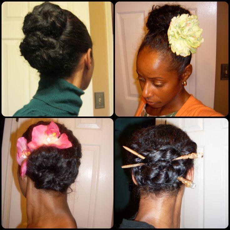Best 25 Natural Hair Buns Ideas On Pinterest Natural