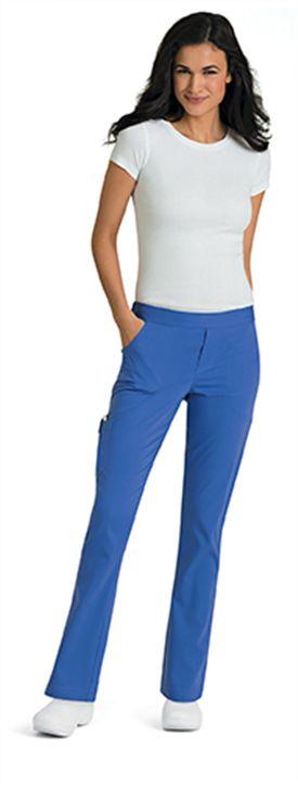 "Landau 9313 Skinny ""Bailey"" Pant #Landau #Nursingpant"