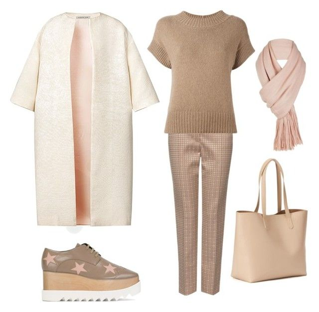"""""""Хорошая девочка"""" by mbits ❤ liked on Polyvore featuring MARC CAIN, MaxMara, Old Navy, Esme Vie, STELLA McCARTNEY and Free People"""