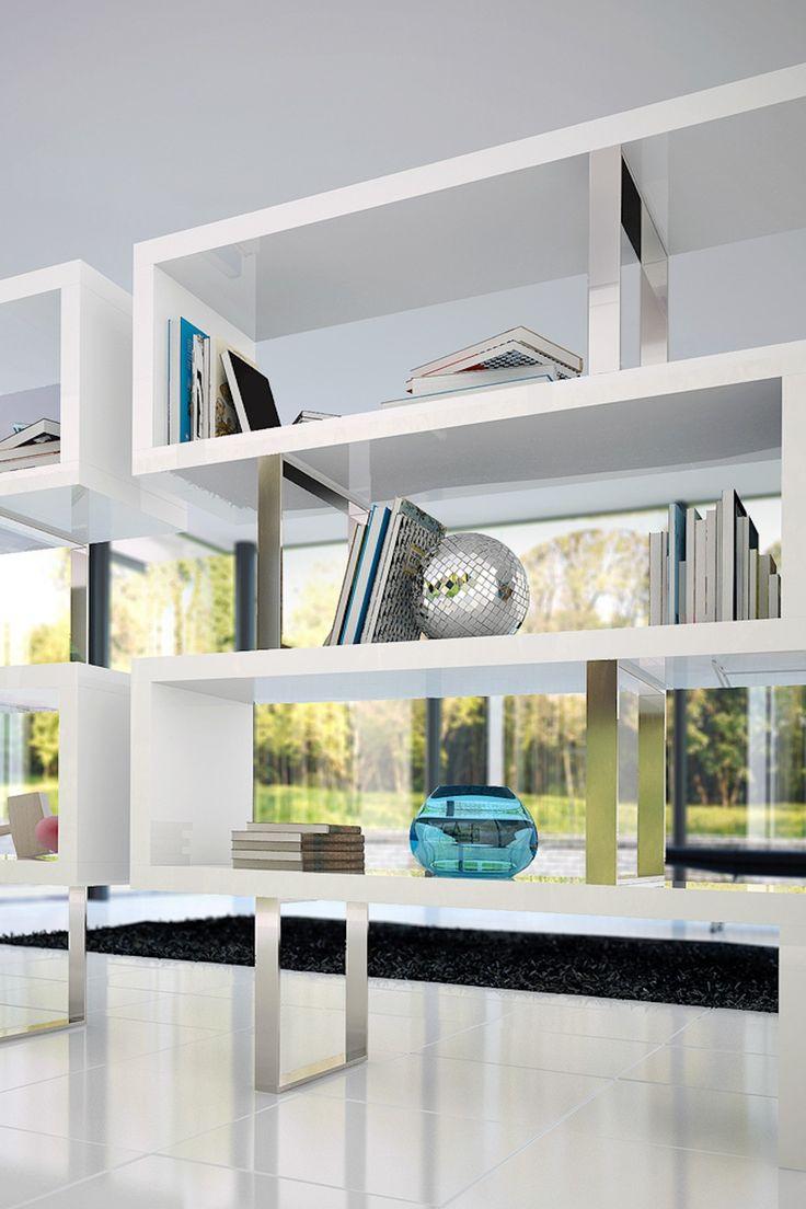 Pearl Bookcase - White on HauteLook