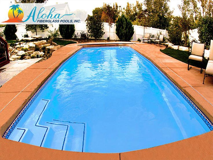 14 best images about modern pools from aloha fiberglass for Find a builder in your area