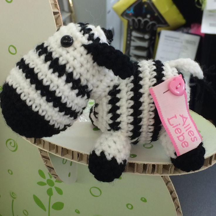 #Woollobies #Häkeltiere #Zebra #DIY