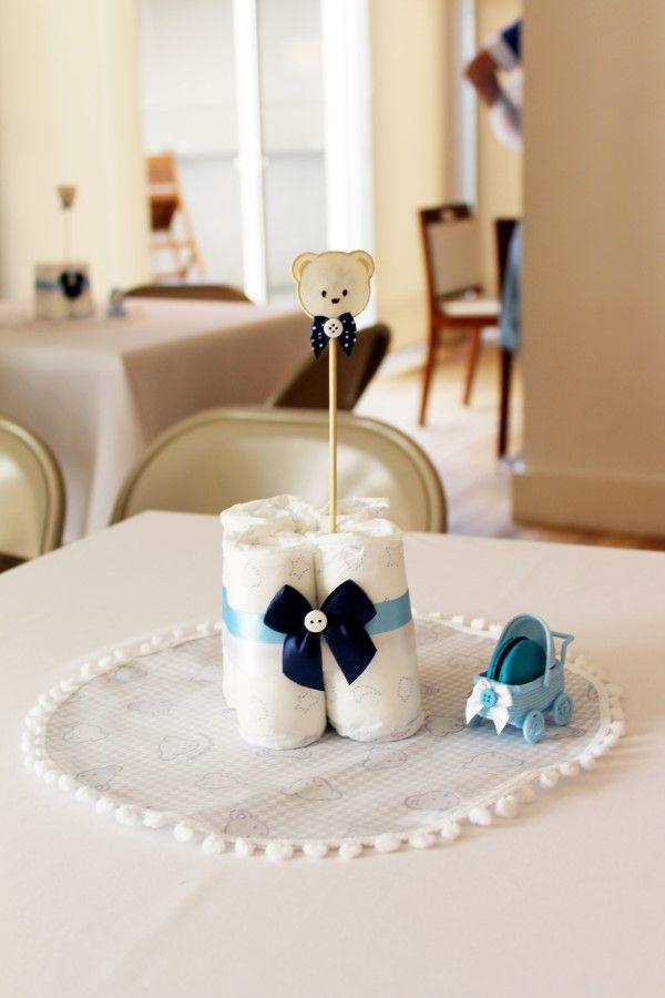 Centro de mesa chá de bebÊs