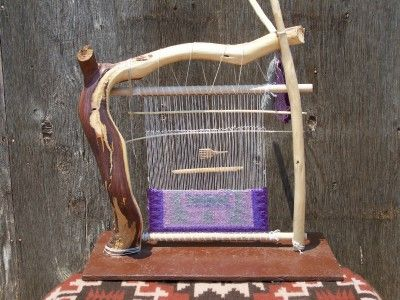 loom, Oooh I gotta make this! handmade from branches lovely design piece keep your weaving on the go in your house and make it into an interior decor item not just work in progress that you feel you have to move when friends come around