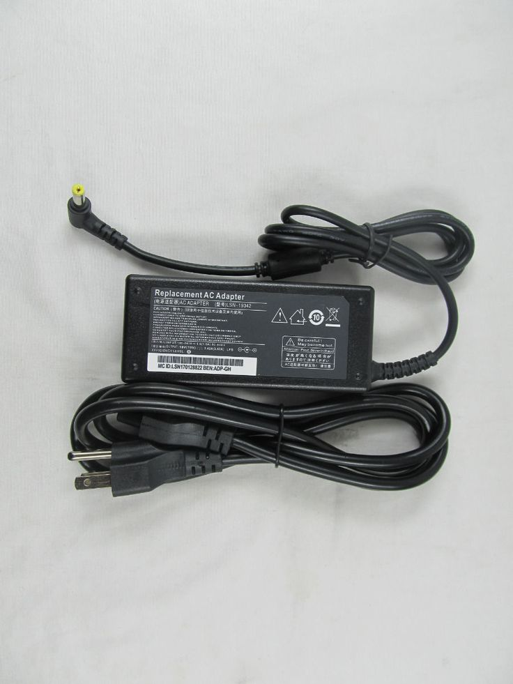 Laptop AC Power Adapter Charger For Acer LITEON PA-1650-02 PA-1700-02 PA-1650-22