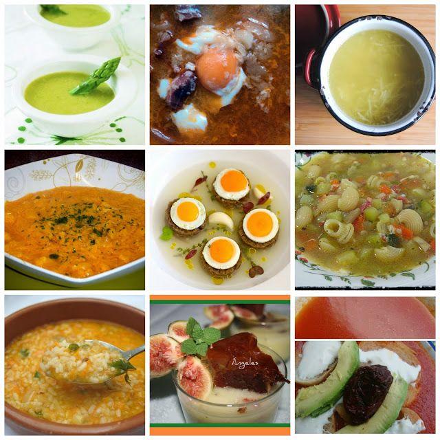 9 recetas de sopa. Te costará decidirte entre todas las que te propone la autora…