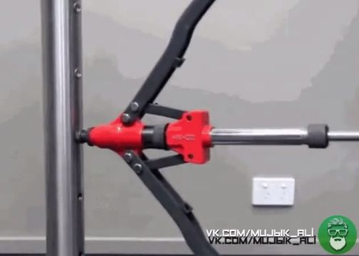YOUSAILING 16″ (400MM) Heavy Duty Double Hand Manual Riveter Gun Hand Riveting T…