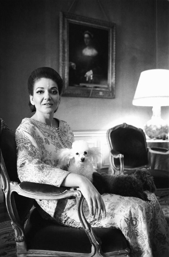 Maria Callas makes her home in Paris, France (1969)