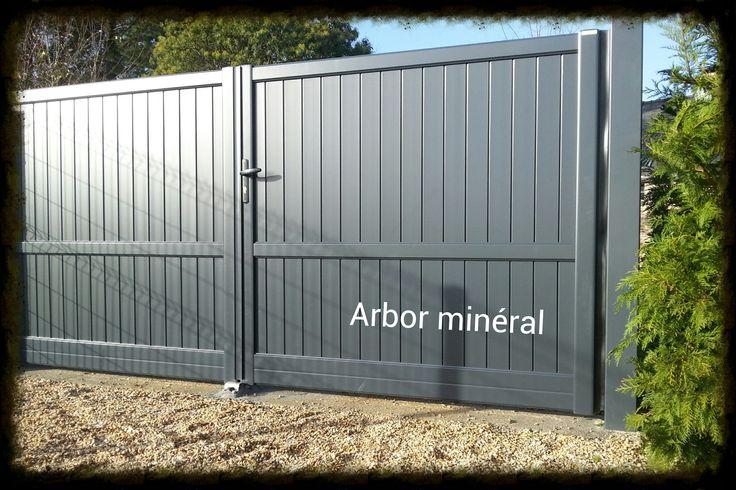 Installation de portail moderne| Arbor Minéral Vannes Auray Carnac, Baden, Arradon, la trinité sur mer, Ploeren