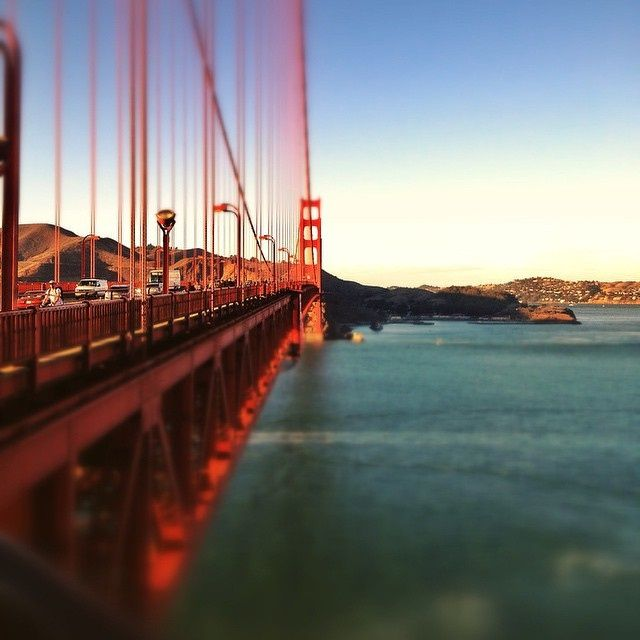Sunset Stroll Along the Golden Gate Bridge by Studio Nomad on 500px