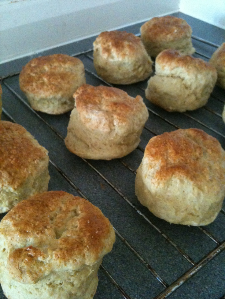 Hot-out-of-the-oven scones