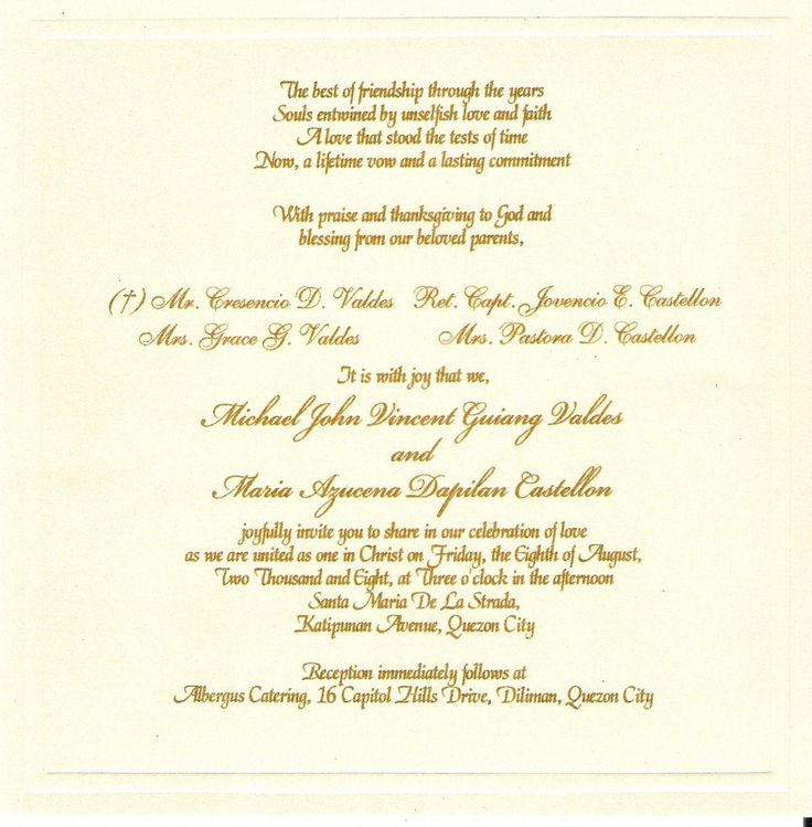 Wedding Invitation Wording Etiquette To Bring Your Dream Wedding Invitation