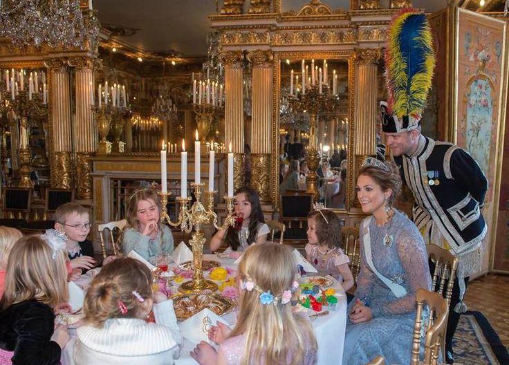 Prinses Madeleine organiseert het Leukste Theepartijtje Ooit, incl. taartjes en tiara's!