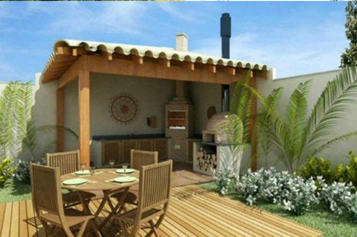 Best 25 asadores de ladrillos ideas on pinterest - Patios exteriores decoracion ...