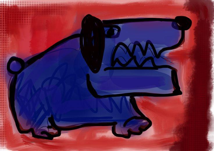 Blå hunde