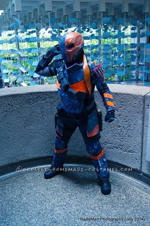 Deathstroke Costume from Batman Arkham Origins... Coolest Halloween Costume Contest