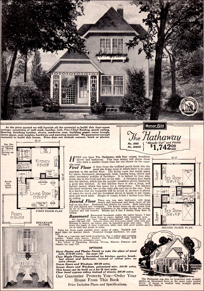 Sears Roebuck Kit Houses, 1923   We have this home listed on Pasadena Ave in Columbus!  It is very cool and sits on a big lot!