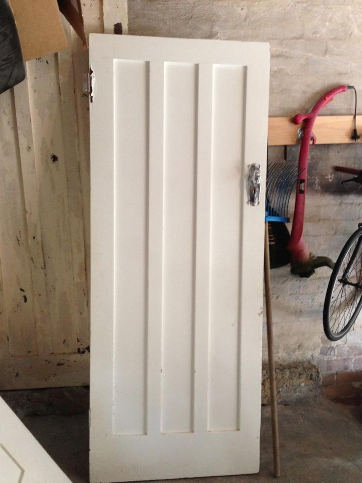 ART Deco Solid Cedar Timber Door | eBay