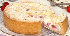 La crostata alle fragole con ricotta e mascarpone è un dolce favoloso, uno strato friabile di frolla racchiude al suo interno un ripieno cremoso e goloso!