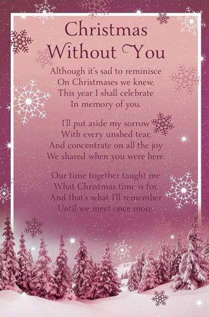This touched me. I didn't think about being buried or cremated. My daughters asked if I would be cremated. That way I would spend one year with one daughter and the next with the other. When they got older. Christmas was so special to us. All holidays but that one was the most. I have taught them the true meaning of Christmas. We only celebrate Jesus's birth. We give gifts on New Years Day. We decorate 2 huge Angel plants with homemade snowflakes. Then we celebrate gift exchanging.