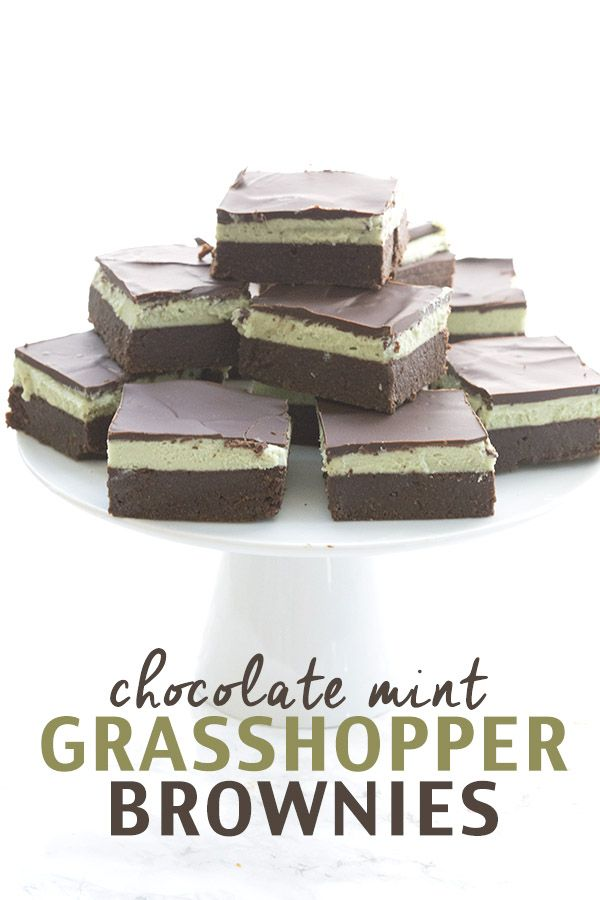 Grasshopper bars get a delicious low carb update. These grain-free brownies with a minty buttercream filling and a sugar-free chocolate topping are sure to please. I've been having some fun l…