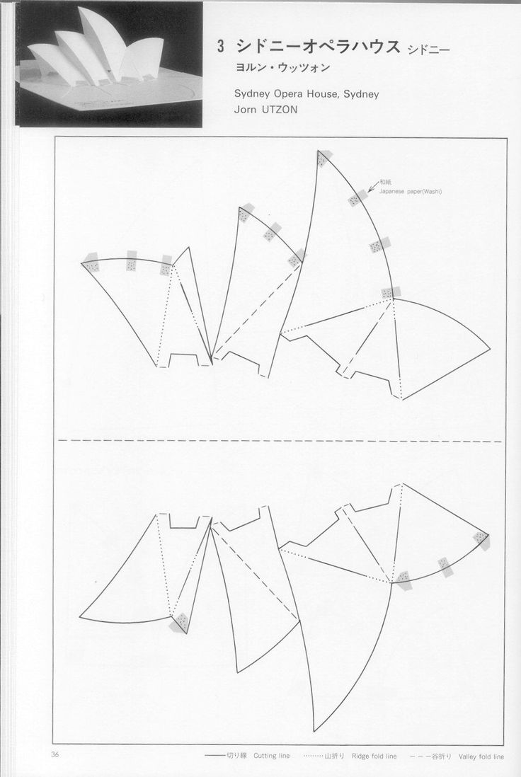Схемы открыток в технике поп ап