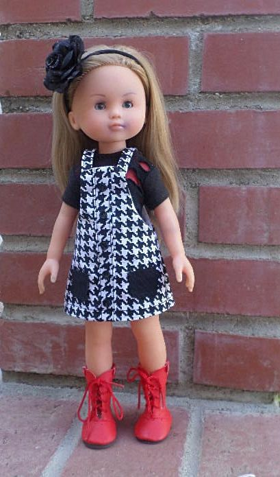 jumper and tee for Les cheries and hearts 4 hearts dolls 13-14