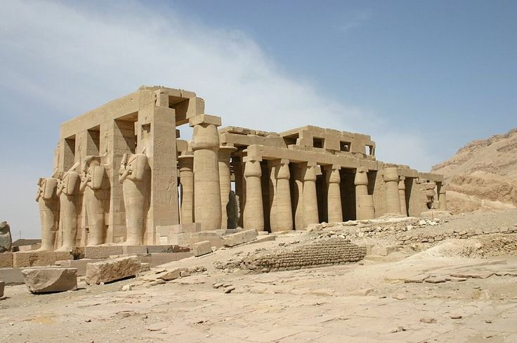 Ramesseum - Ramsés II
